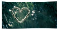 Valentine's Day In Nature Beach Towel