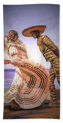 Vallarta Dancers Beach Towel