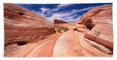 Valley Of Fire 2 Beach Towel