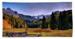 Valley Of Mt Sneffels Beach Towel