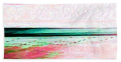 Variations On An Abstract Theme Beach Towel by Chris Anderson