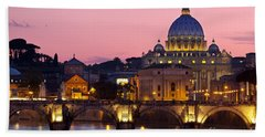 Vatican Twilight Beach Towel