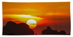 Vedauwoo By Sunrise Beach Towel