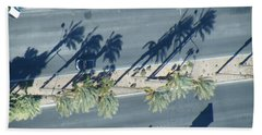 Veepalm Beach Towel by Brian Boyle