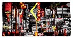 Vegas Nights Beach Sheet