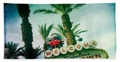 Vegas Beach Sheet by Nina Prommer