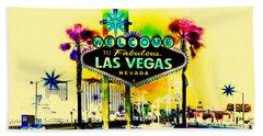Vegas Weekends Beach Towel