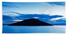 Veli Osir Island At Dawn Beach Sheet