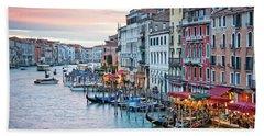 Venetian Sunset Beach Sheet