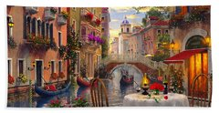 Venice Al Fresco Beach Towel