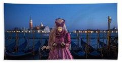 Venice Carnival '15 V Beach Sheet