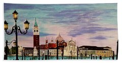 Venice  Italy By Jasna Gopic Beach Sheet