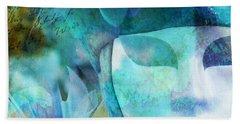 Venitian Carnival - Mask Beach Towel by Barbara Orenya