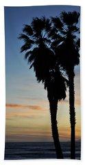 Ventura Palm Sunset Beach Towel