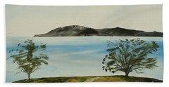 Ventura's Two Trees With Santa Cruz  Beach Sheet
