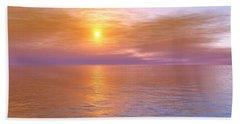 Beach Towel featuring the digital art Verona Beach by Mark Greenberg