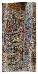 Verona Italy Locks Of Love Beach Sheet by Robin Maria Pedrero