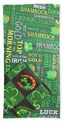Beach Sheet featuring the photograph Very Irish by Barbara McDevitt