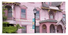 Victorian Pink House - Milford Delaware Beach Towel