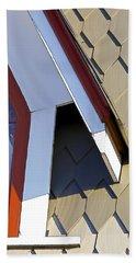 Victorian Red Wood Window IIi Beach Sheet