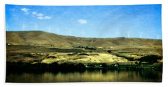 Vineyards On The Columbia River Beach Towel