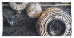 Vintage Argus C3 35mm Film Camera Beach Towel