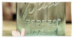Vintage Ball Perfect Mason Beach Towel