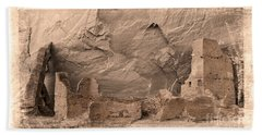 Vintage Canyon De Chelly Beach Sheet by Jerry Fornarotto