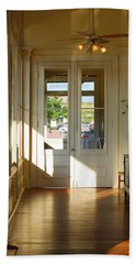 Vintage Foyer Filled With Light - The Ant Street Inn Beach Sheet by Connie Fox