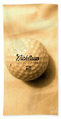 Vintage Golf Ball Beach Towel