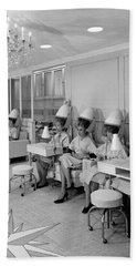 Vintage Hair Salon 2 Beach Towel