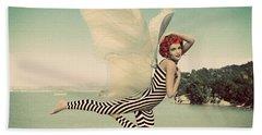 Vintage Ocean Fairy Beach Sheet