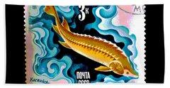 Vintage Soviet Union Stamp Beach Sheet