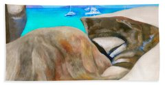 Virgin Gorda Baths Beach Towel