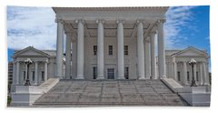 Virginia Capitol Beach Towel