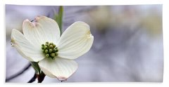 Beach Towel featuring the photograph Virginia Dogwood by Cathy Shiflett
