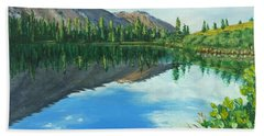 Virginia Lake Beach Towel