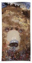 Visionary Bear Beach Towel by Kim Prowse
