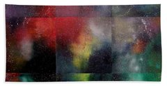 Visions Of Space And Time Beach Towel by Jeremy Aiyadurai