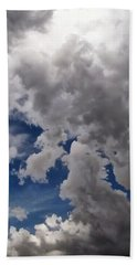 Voices In The Sky Beach Towel by Glenn McCarthy Art and Photography