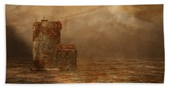Void - Life After Radiation Beach Towel