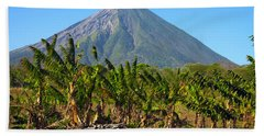 Volcan Concepcion Nicaragua Beach Towel