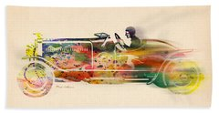 Volkswagen Beach Towel by Mark Ashkenazi