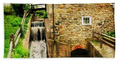 Wagner Grist Mill Beach Towel