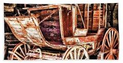 Beach Sheet featuring the painting Wagon by Muhie Kanawati