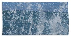 #waikiki Backsplash Beach Towel