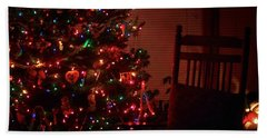 Waiting For Christmas - Square Beach Towel