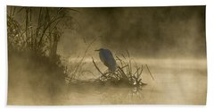 Beach Towel featuring the photograph Waiting For The Sun by Steven Sparks