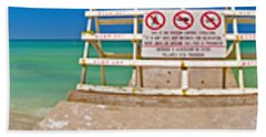 Walk Into Water Beach Sheet