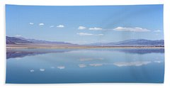 Walker Lake Mirror Beach Towel by Jennifer Nelson